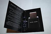 Пробник мужской туалетной воды Lalique Encre Noire for Men 2ml