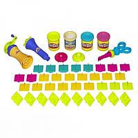 Play- Doh Набор пластилина Супер инструменты формочки цифры и буквы Super Tools