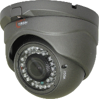 HD-TVI видеокамера VLC-4192DFT-N для внутренней установки.