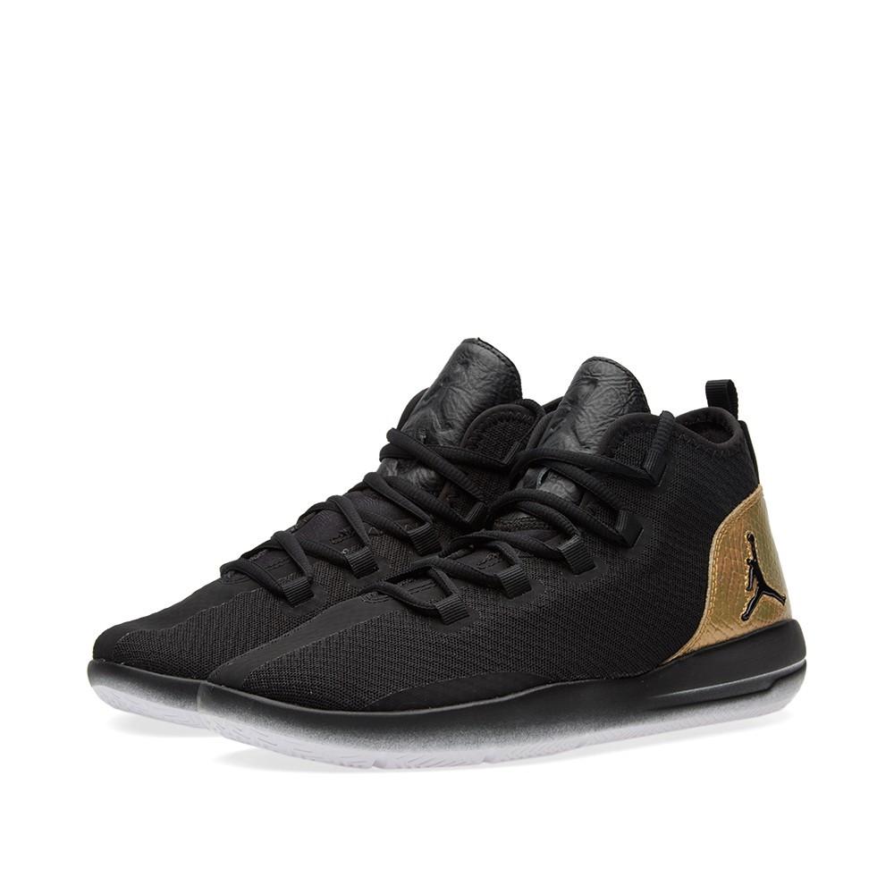 72d10b4fa4b5 Оригинальные кроссовки Nike Jordan Reveal Q54 BG Black, White   Metallic  Gold - Sport-