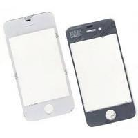 Сенсорный экран для iPhonе 3/4 белый (81*54мм) со шлейфом под пайку снизу справа