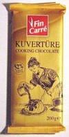 Шоколад Fin Carre Kuverture 52% 200г Фин кер