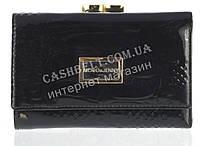 Небольшой элитный женский кожаный лаковый кошелек высокого качества Moro & Jenny art. MR-4022A черный, фото 1