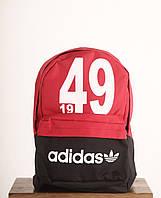 Рюкзак Adidas черно-красный