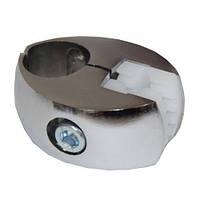 Односторонний держатель для стекла R7 с пластиковым вкладышем при сборки мебели системы джокер