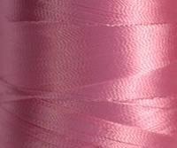 Нитка шелк/ embroidery 120den. №D-112(розов.)(L/G) 3000 ярд