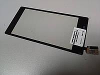 Тачскрин (сенсор) для Sony D2305, D2302, D2303, D2306 Xperia M2 S50h (black) Original
