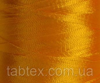 Нитка шелк/ embroidery 120den. №D-132 желт.т 3000 ярд