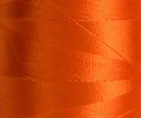 Нитка шелк/ embroidery 120den. №D-135 оранж.яр 3000 ярд
