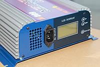 Инвертор сетевой Grid ветрогенератора, 24в-220в 600Вт LCD онлайн инвертор с ветряка напрямую в электросеть