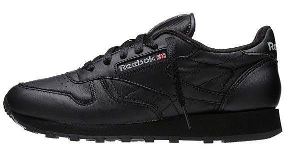 """Мужские кроссовки Reebok Classic """"Black"""" (Рибок Класик) черные"""