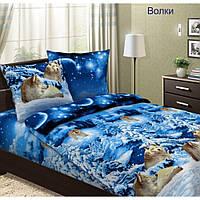 Комплект постельного белья Волки (бязь, 100% хлопок), фото 1
