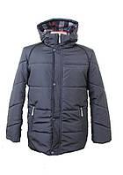 Куртка мужская зимняя (синяя и черная) El&KEN 227 размер 46-52 Турция