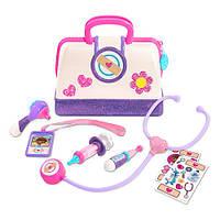 Медицинский набор Доктора Плюшевей кейс доктора Disney Junior Doc McStuffins Toy Hospital Doctor's Bag Set - 8