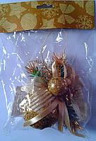 """Новогодняя игрушка """"Шар декорированный"""" 90869-PN Китай"""