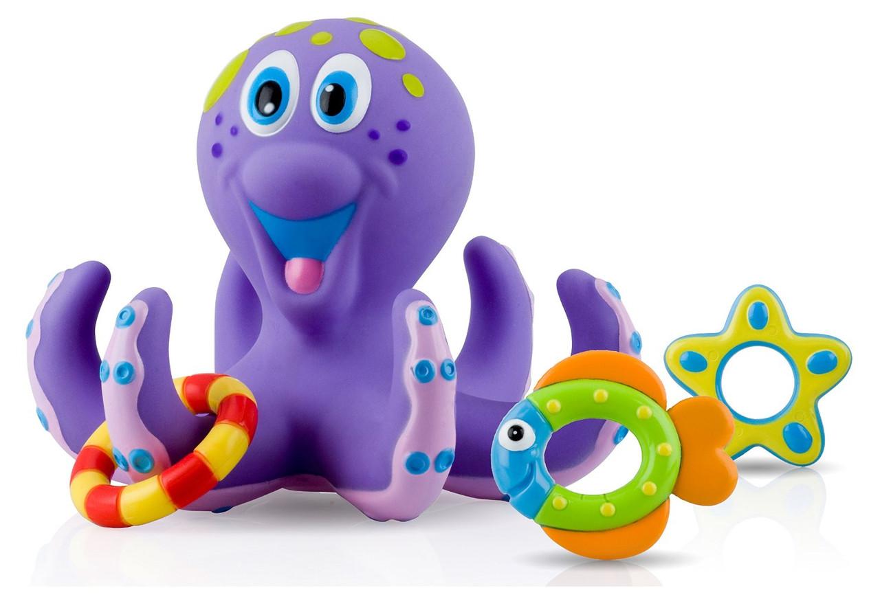 Іграшка для ванни Восьминіг Nuby