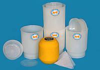 Форма для сыра круглого весом до 1 кг типа Голландский