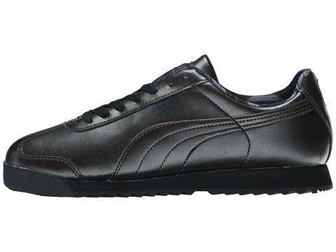 Мужские кроссовки Puma Roma (пума) черные