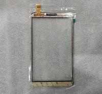 Сенсорный экран для китайских телефонов 73х53 мм, резистивный, ZFLD-015 черный