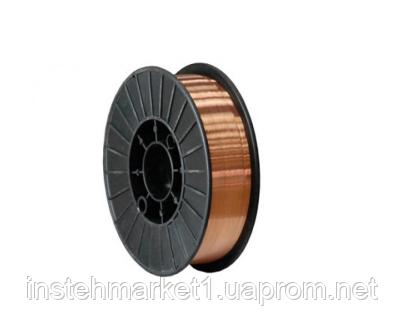 Сварочная проволока омедненная Forte 0.8 мм х 15 кг, фото 2