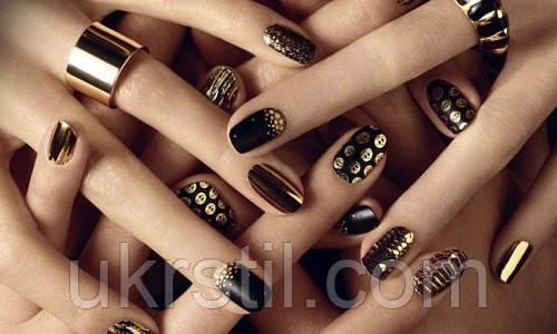 Использование фольги для ногтей