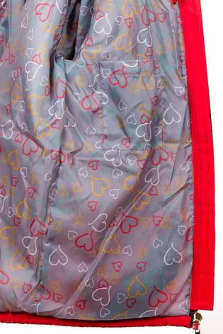 Детская демисезонная куртка парка на девочку, р.30-40, фото 2