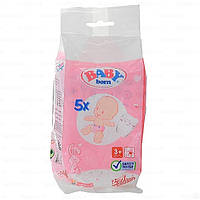 Памперсы для куклы Baby Born Zapf Creation в наборе 5 шт 815816