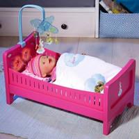 Интерактивная кроватка для куклы Baby Born Радужные сны Zapf 822289