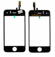 Сенсорное стекло для китайских телефонов 90*58 мм, резистивный, 113A (113) черное