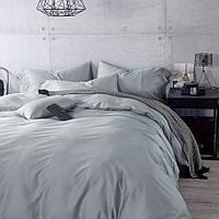 Комплект постельного белья сатин однотонный Light Grey
