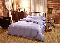 Комплект постельного белья сатин однотонный Lilac