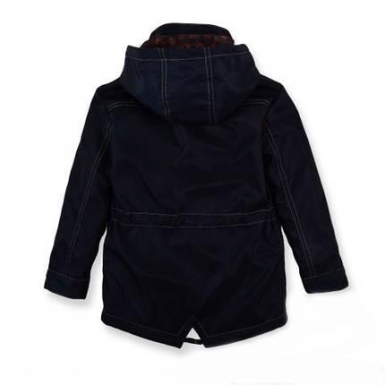 Детская демисезонная куртка -парка на мальчика,116-122, фото 2