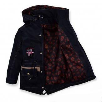 Детская демисезонная парка куртка на мальчика,116-122, фото 2