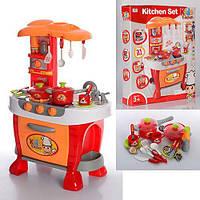 Детская кухня 008-801A, свето, звук, плита, духовка, посуда, как настоящая