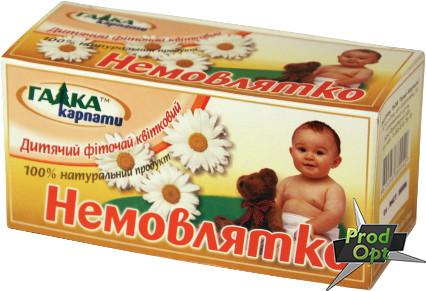 Чай Галка Немовлятко 20 пакетів