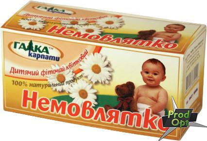 Чай Галка Немовлятко 20 пакетів, фото 2