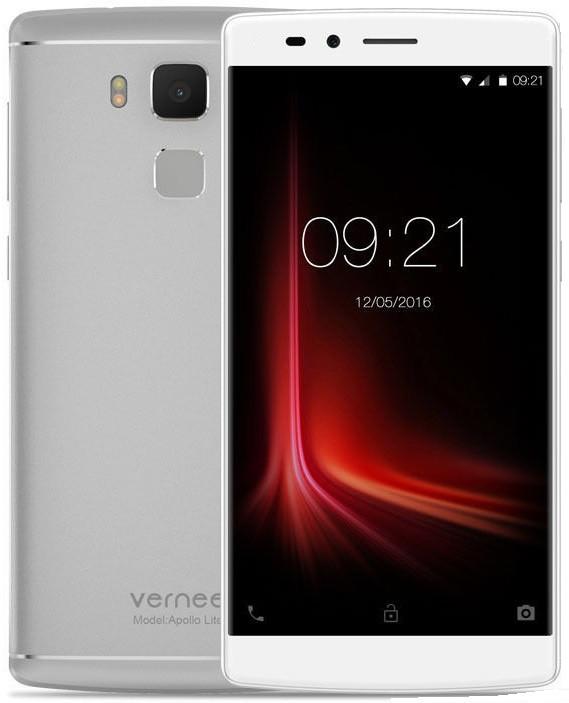"""Vernee  Apollo Lite silver 4/32 Gb, 5.5"""", MT6797, 3G, 4G"""