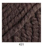 Yarnart Alpine Alpaca -431 шоколад