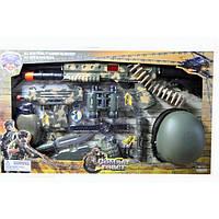 Военный набор для мальчика с каской, автоматом и другими предметами (33470)