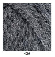 Yarnart Alpine Alpaca - 436 темно сірий
