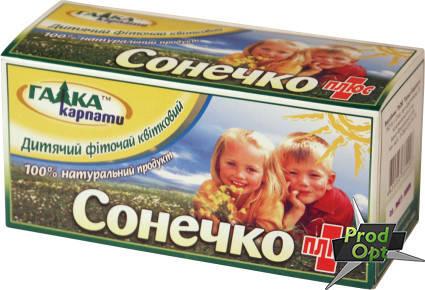 """Чай Галка """"Сонечко"""" 20 пакетів, фото 2"""