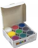 """Набір фарб по склу та кераміці 9 кольорів по 20 мл """"Decola """", фото 3"""