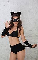 Костюм кошки Catwoman черный S