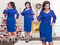 Нарядное женское платье большого размера 50-58