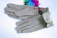 Бежевые женские зимние перчатки