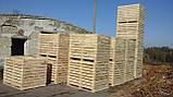 Контейнер деревянный 1600х1200х1200, фото 3