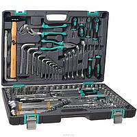 Набор инструментов,1/2 ,3/8,1/4,CrV,- 142 предмета STELS - Пожизненная гарантия.
