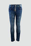 Модные джинсы для девочки с высокой талией