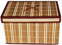 Ящик с крышкой раскладной средний