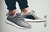 Мужские кроссовки Adidas Yeezy Boost 350 Kanye West (Адидас Изи Буст 350) серые, фото 7